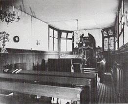 synagoge in oudelieden gesticht